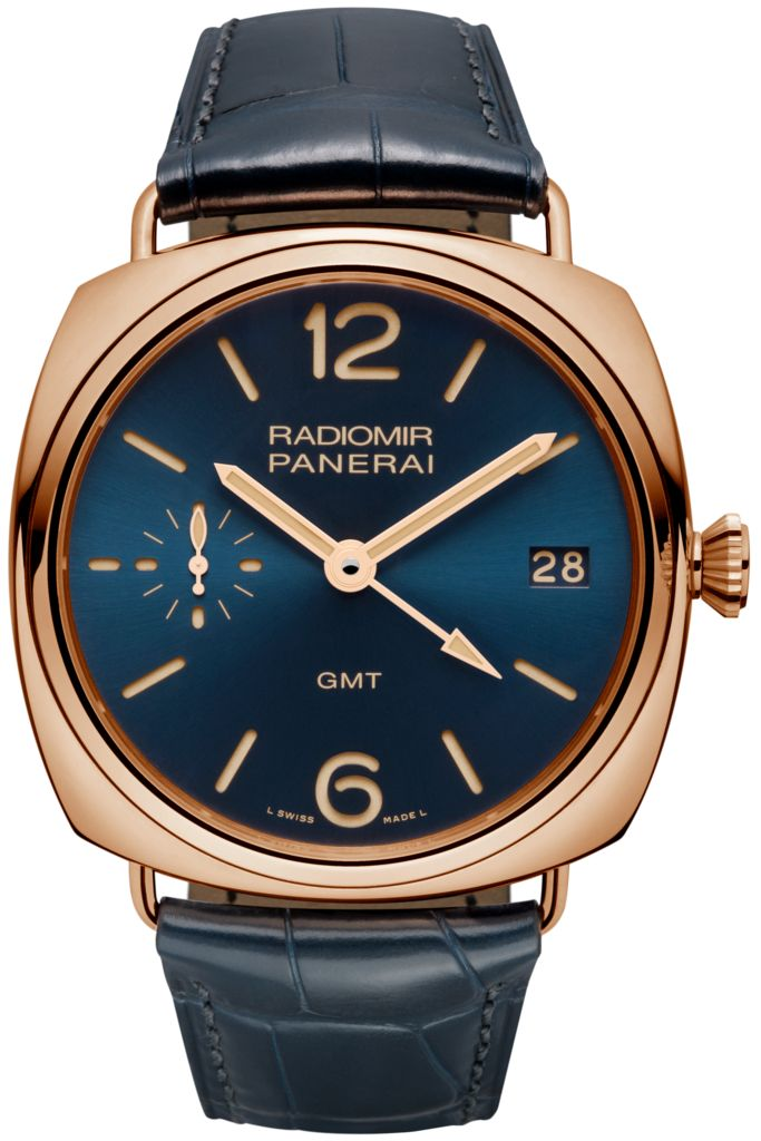 Radiomir 3 Days GMT Oro Rosso - 47mm PAM00598 - Collection Radiomir - Officine Panerai Watches