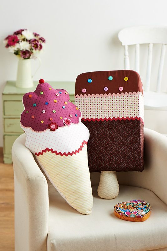 We all scream for... (Sew 59, May issue)