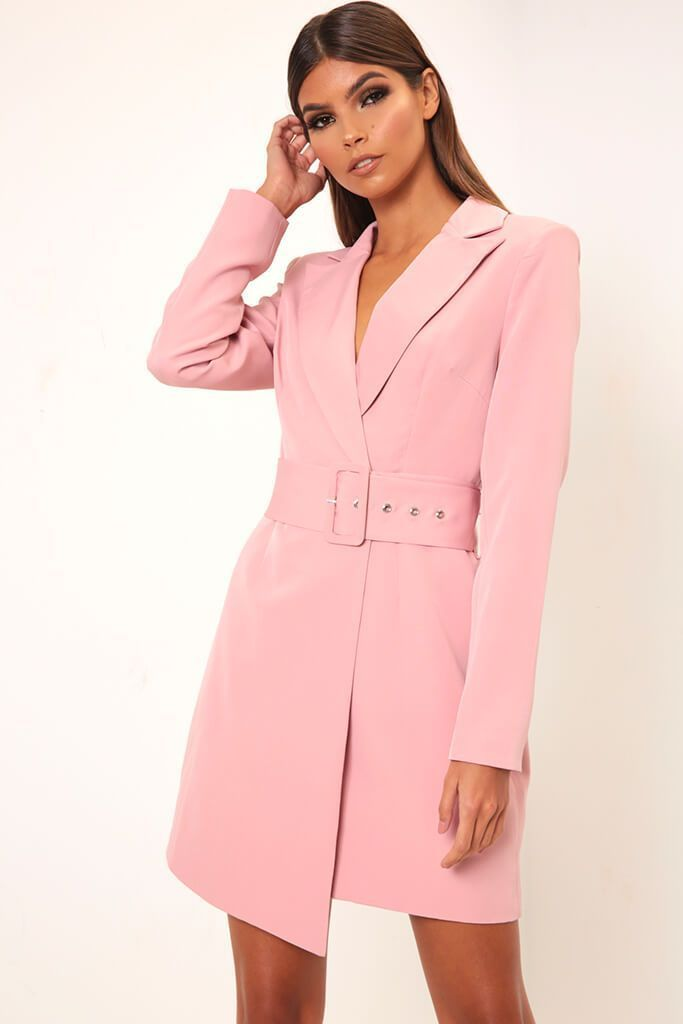 4f34a7d17f7b Rose double breasted blazer dress in 2019 | Shopping list | Blazer ...