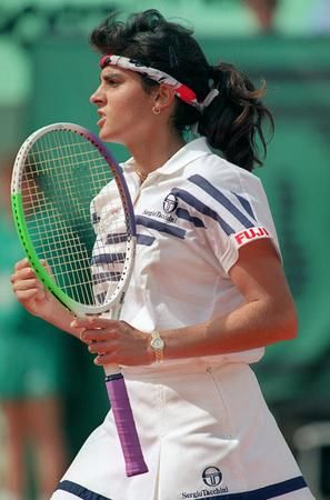 Gabriella Sabatini...my fav player when I was growing up!