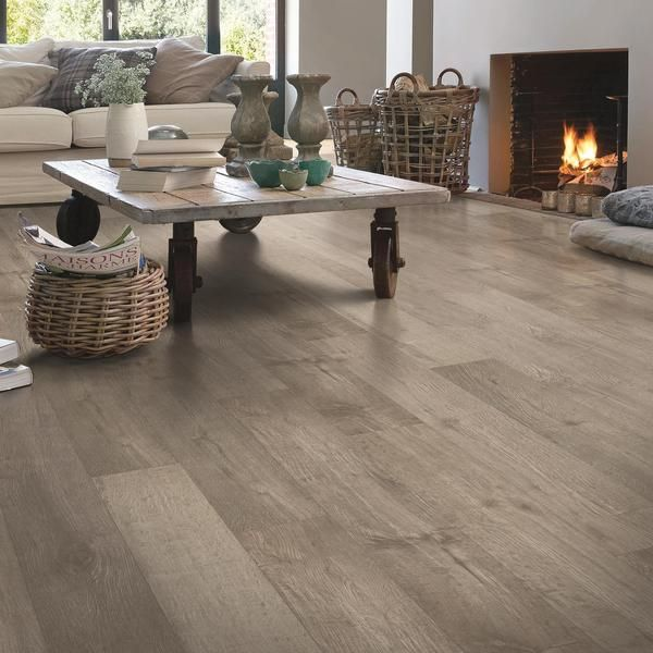 QuickStep NatureTek Plus - Laminate Flooring | Rustic Flooring, Bedroom Wood Floor, Flooring Trends
