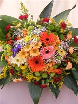 Buchet XXL cu flori colorate