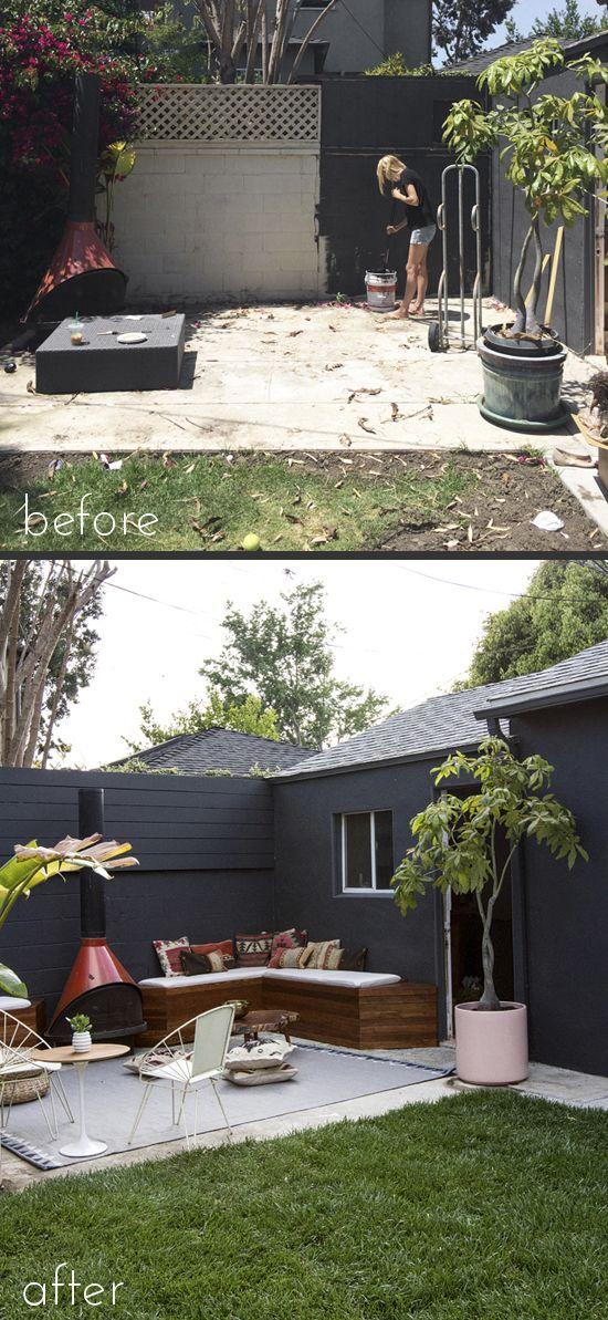 Diy Backyard Patio On A Budget: Best 25+ Patio Makeover Ideas On Pinterest