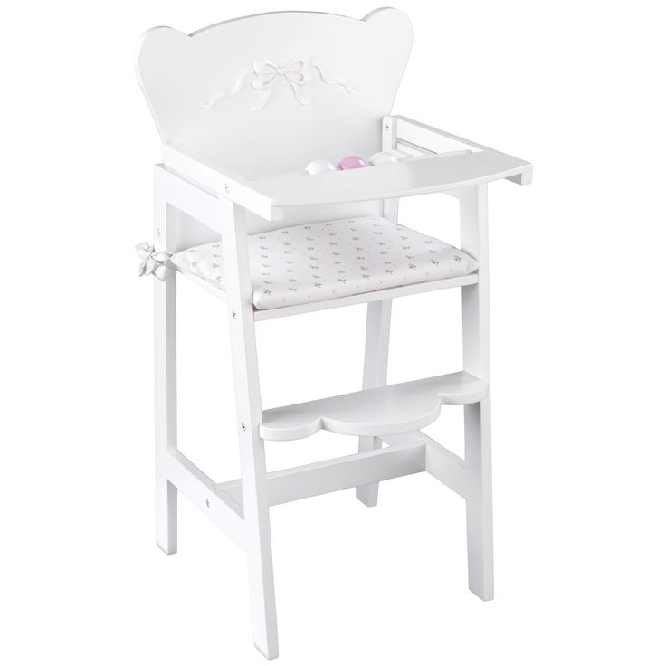 Have to have it. KidKraft Tiffany Bow Lil Doll High Chair $29.98