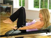 Christie Brinkley Pilates on the Total Gym