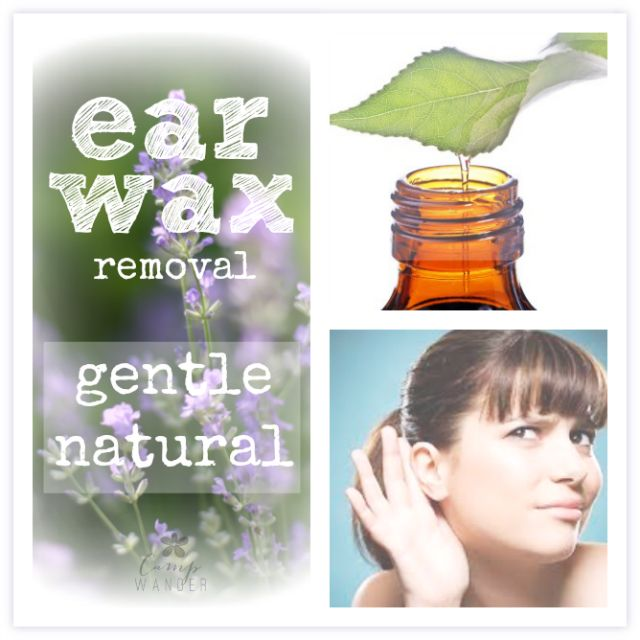 Remove Earwax Gently & Naturally — Use this olive oil essential oil recipe to remove excess earwax without cotton swabs or metal tools. The whole process takes around 30-45 minutes.   |   Camp Wander