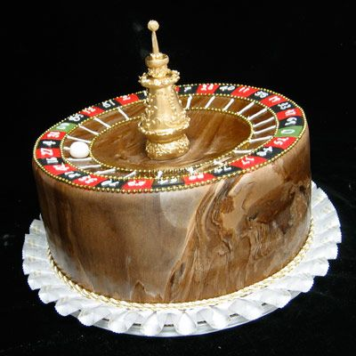 Grooms Gone Wild! Roulette	  The Bakers: Freed's Bakery of Las Vegas, Las Vegas, NV  The Challenge: Hit the jackpot with a perfect cake for a roulette-playing groom.  Fantastic Flavor: White marble cake with a sweet cream Bailey's mousse filling