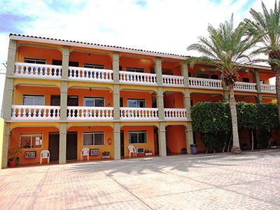 The Red Lobster Hotel (La Hacienda de la Langosta Roja) in San Felipe Baja…