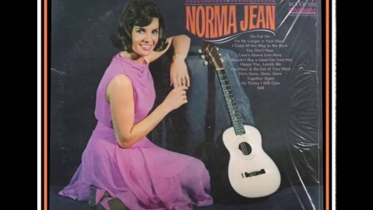 Norma Jean Beasler (born January 30, 1938), better known as Norma Jean, is an American country music singer who was a member of The Porter Wagoner Show from 1961–1967. She had 13 country singles in Billboard's Country Top 40 between 1963 and 1968, recorded twenty albums for RCA Victor between 1964 and 1973, received two Grammy nominations, and was a Grand Ole Opry member for a number of years.