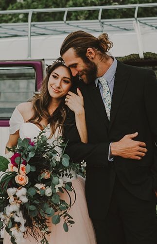 Boho & Moody Ranch Wedding Inspiration - Inspired By This
