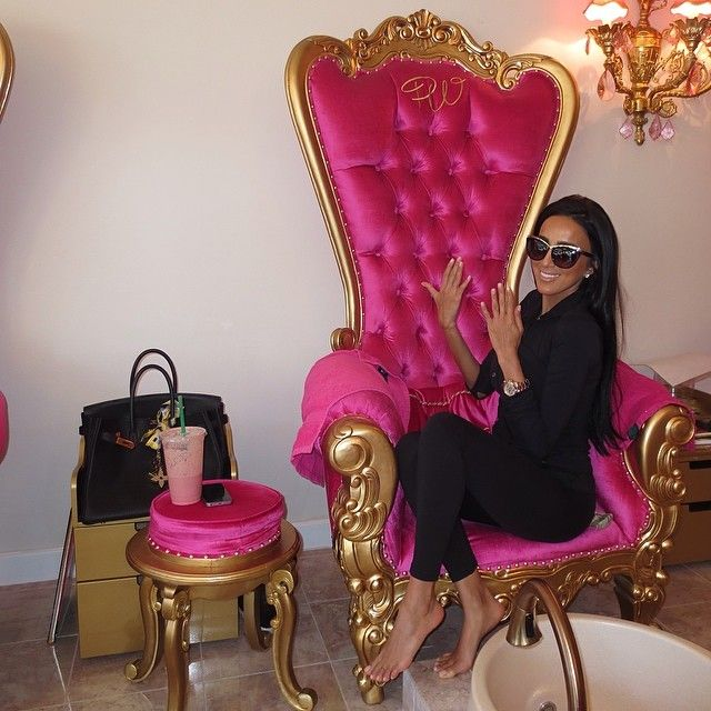 Hot pink & gold baroque!!