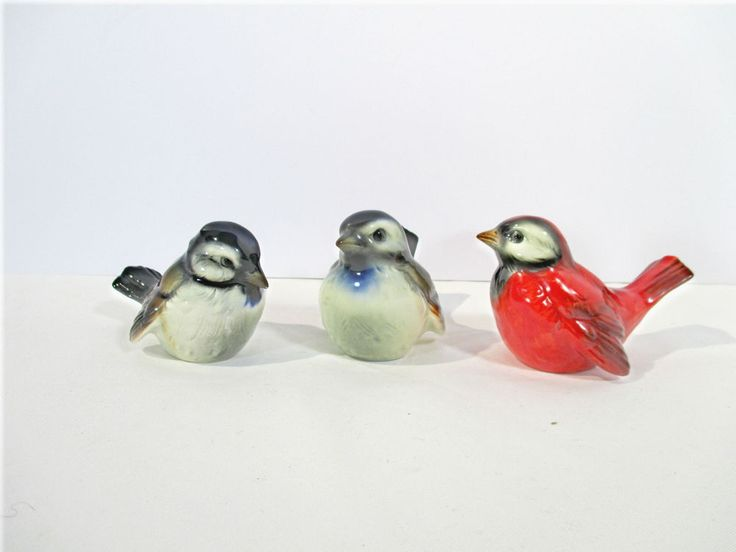 17 best images about goebel on pinterest image search canary birds and vintage - Chickadee figurine ...