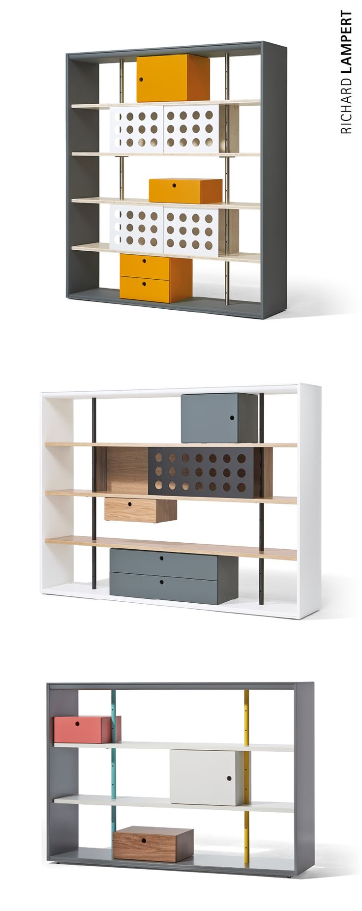 A different type of classic. – ›FRAME‹ shelving system by Alexander Seifried
