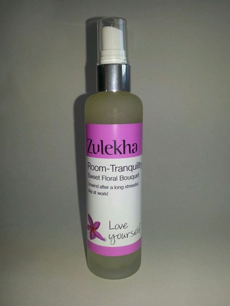 Room Spray Tranquility 100ml Essential Oils Blend Zulekha Aromatherapy Care