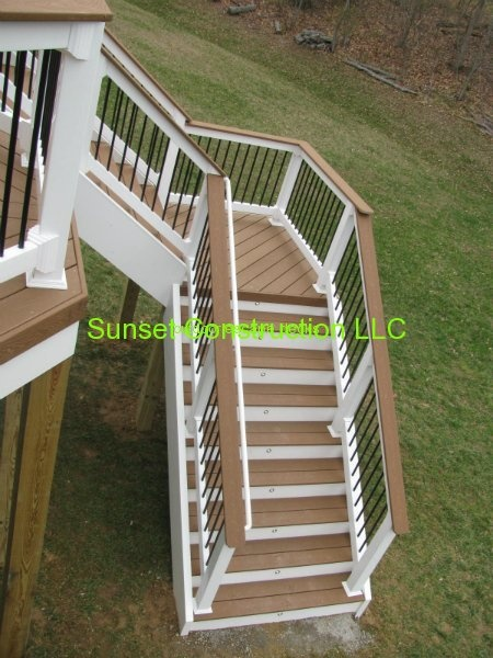 Trex Accents Saddle Color Deck By Www Outdoorescapesdeck