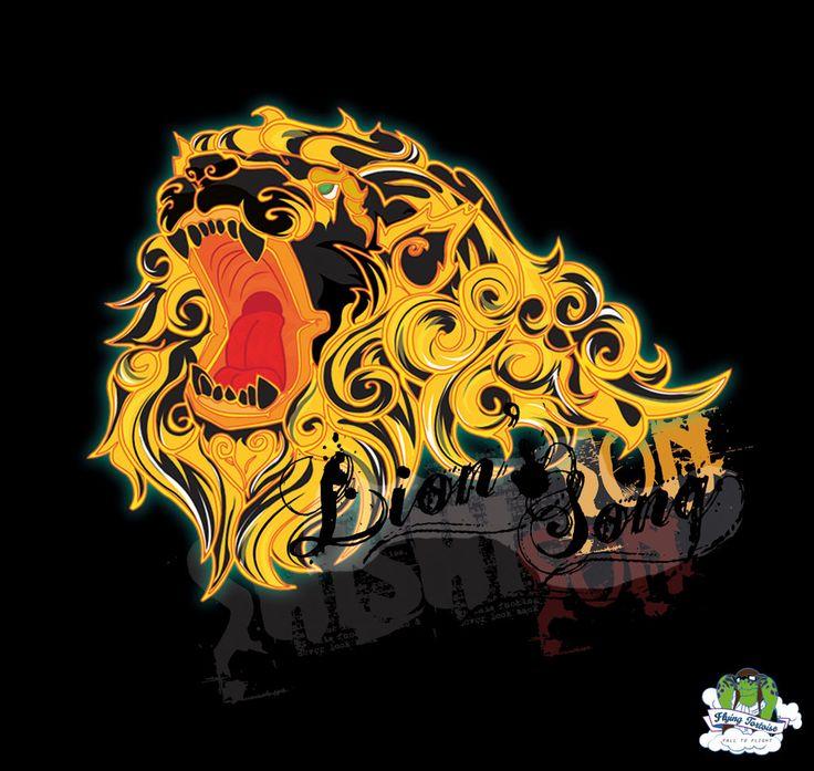 Lion with logo by Hardeman.deviantart.com on @deviantART