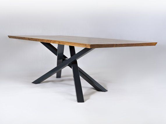 Unique Table Base Table Handmade Furniture Dining Table Base