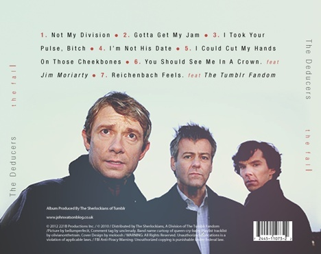 Funny Sherlock Soundtrack Titles Is...is this real? I would love to know what the songs sounded like haha!