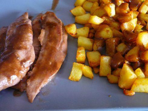 Aiguillettes de canard au vinaigre balsamique