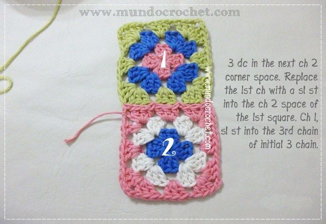 How to join granny squares6