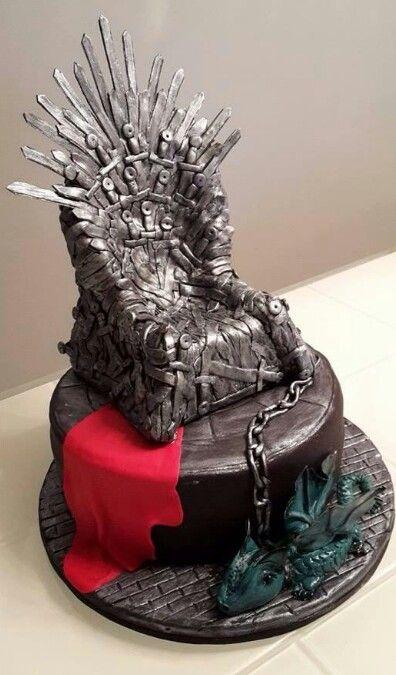 Game Of Thrones Cake Coberturas De Pasteles Y Galletas