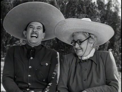 Mexican Cinema.  Pedro Infante y Sara García