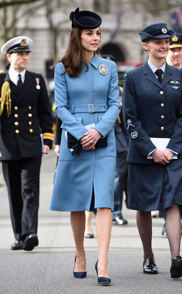 Kate Middleton showcased another chic, repeat style at her latest royal outing. The 34-year-old, ...