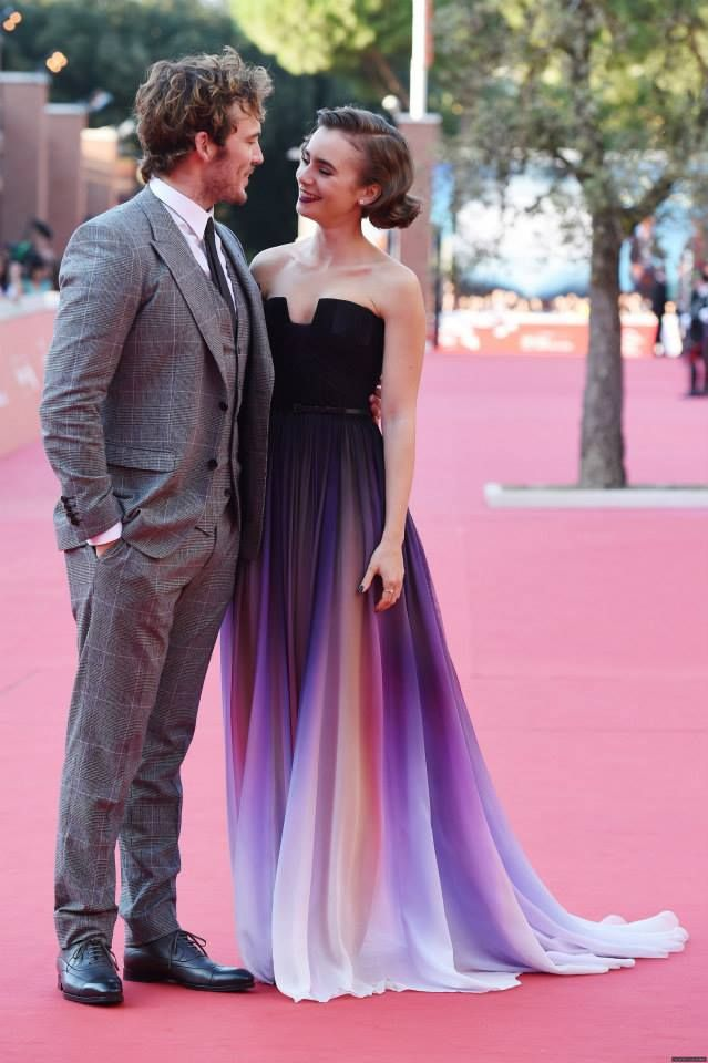 Lily Collins and Sam Claflin :)   Lily Collins   Pinterest ...