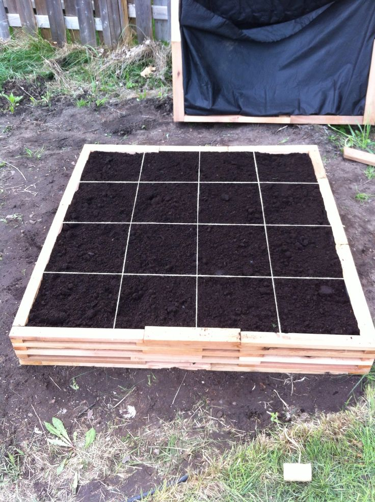 How To Make A Square Foot Gardening Box