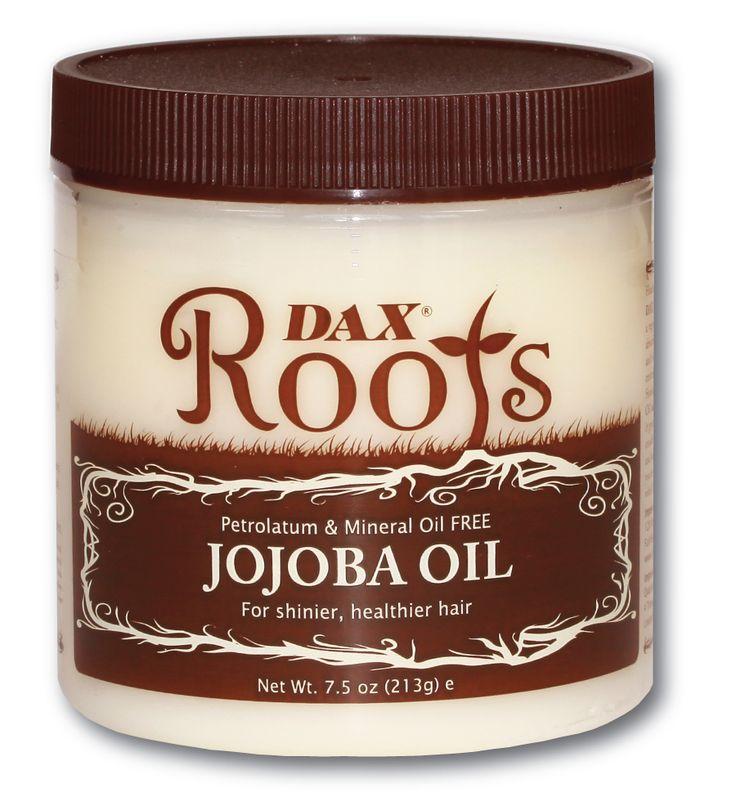 JOJOBA YAĞI Haftalık Saç Bakım  uygun saç tipi: kuru, ısı işlemi görmüş, kıvırcık, çok yıpranmış, mat  Kullanım periyot: haftalık Arındırma : gerektirir DAX ROOTS Jojoba yağı, vazelinli  aksine, saç içine kolayca nufüz eden, saça  nem ve parlaklık veren, bitkisel yağ ile formülüze edilmiştir. Jojoba yağı, kafa derisi ve saç bakımı için gibi yüzyıllar boyunca kullanılmıştır. Vücudumuzun ürettiği doğal yağa benzer olarak, Jojoba yağı, yağlı bırakmadan parlaklık ve nem katar.