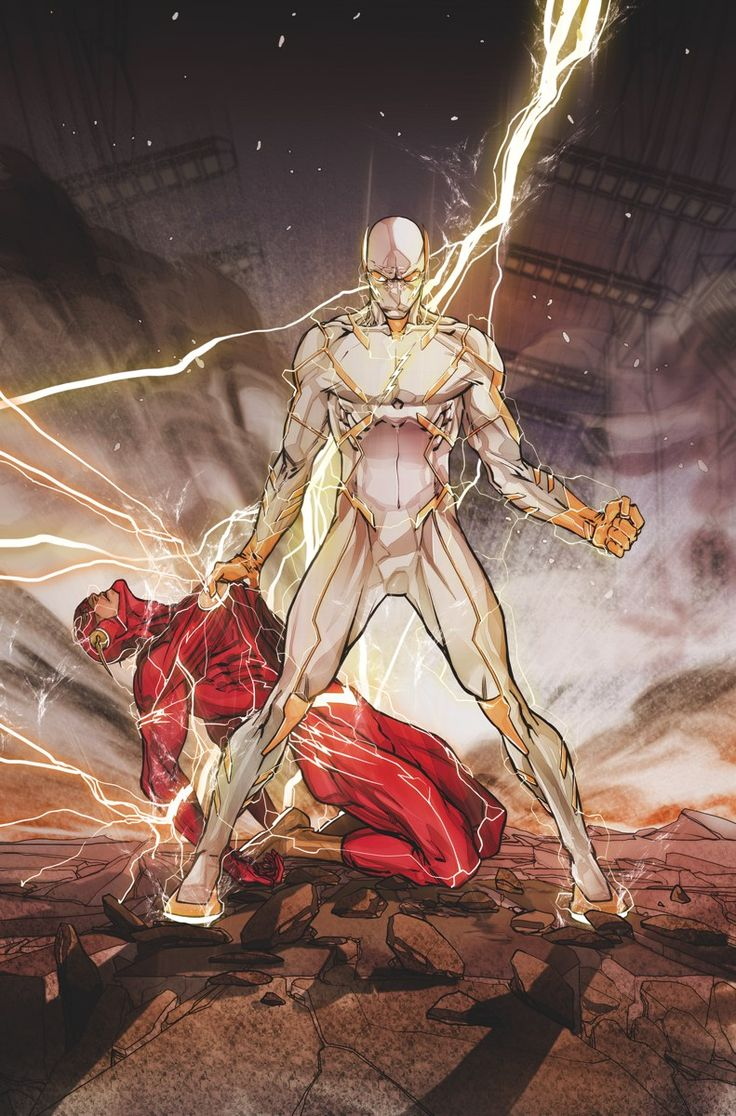 THE FLASH #6 (The Flash vs Godspeed) - Written by JOSHUA WILLIAMSON // Art and cover by CARMINE DI GIANDOMENICO // Variant cover by DAVE JOHNSON