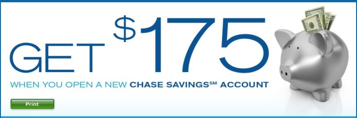 Chase Bank Savings Account $175 Coupon Codes Available. #banking #finance #bankbonus
