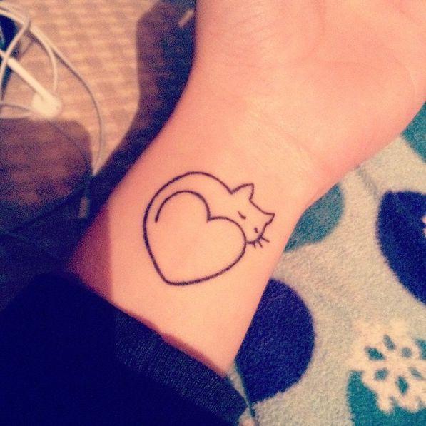 60 tatouages pour les amoureux des chats   Glamour
