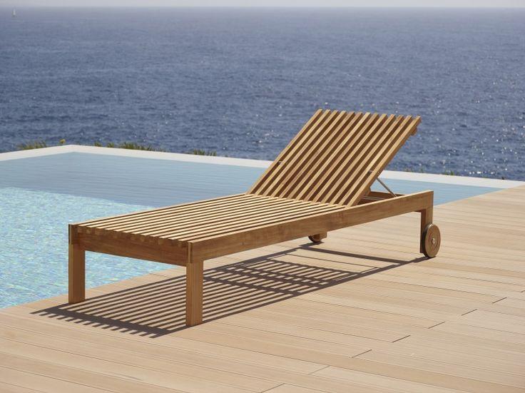 Amaze to kolekcja mebli ogrodowych Cane - Line, zaprojektowana przez Foresom & Hiort - Lorenzen. Meble wykonane zostały z drewna tekowego. Amaze sofa ogrodowa - 145x82x77 cm - 7 650 pln  Amaze leżak ogrodowy - 215x77x110 cm