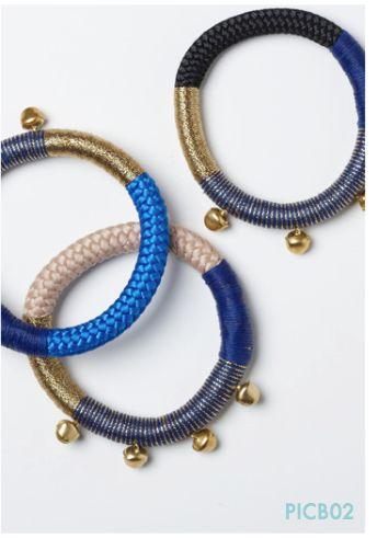Bells Bracelets by Pichulik online in Australia.