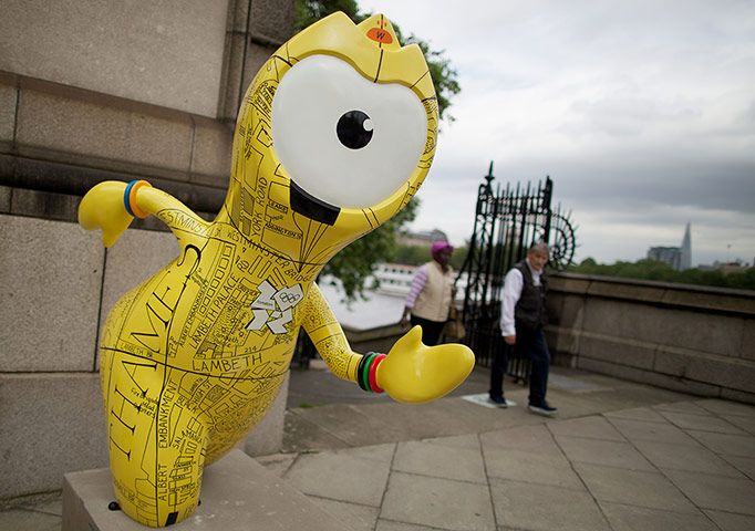 Olympic mascot statues: Olympic mascot statues, Wenlock