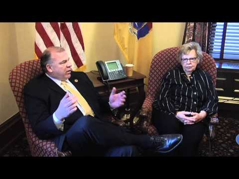 In this video from last Thursday's AARP tele-town hall, Senate President Steve Sweeney says that we have to look at shared services as a way to control runaway administrative costs in local government.