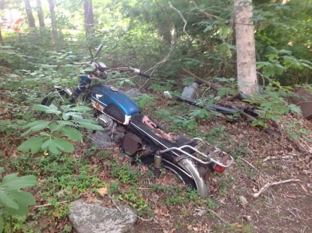 Forgotten honda sad motorcycles pinterest honda for Unclaimed motor vehicle ohio