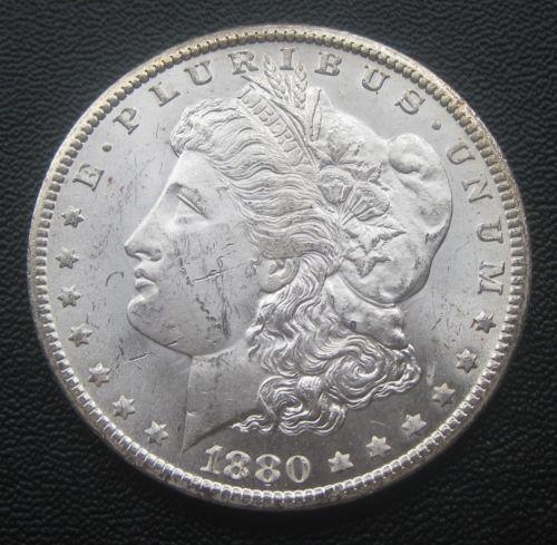 1880-CC-Morgan-Silver-Dollar-Choice-Bu-8-Over-7-CC-Doubled-P1149