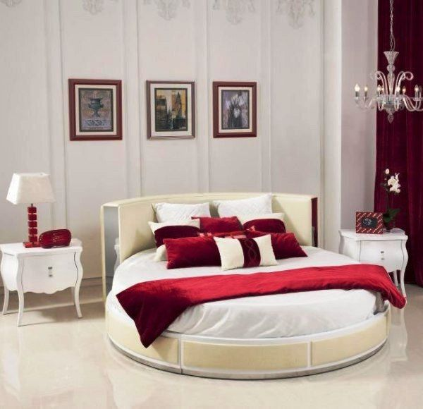 17 best images about round beds on pinterest nooks for Bedroom designs round beds
