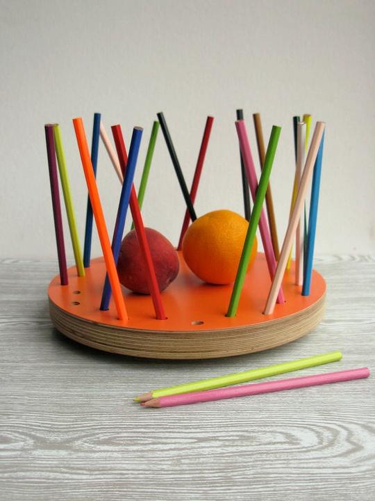Pencil Fruit Bowl!!