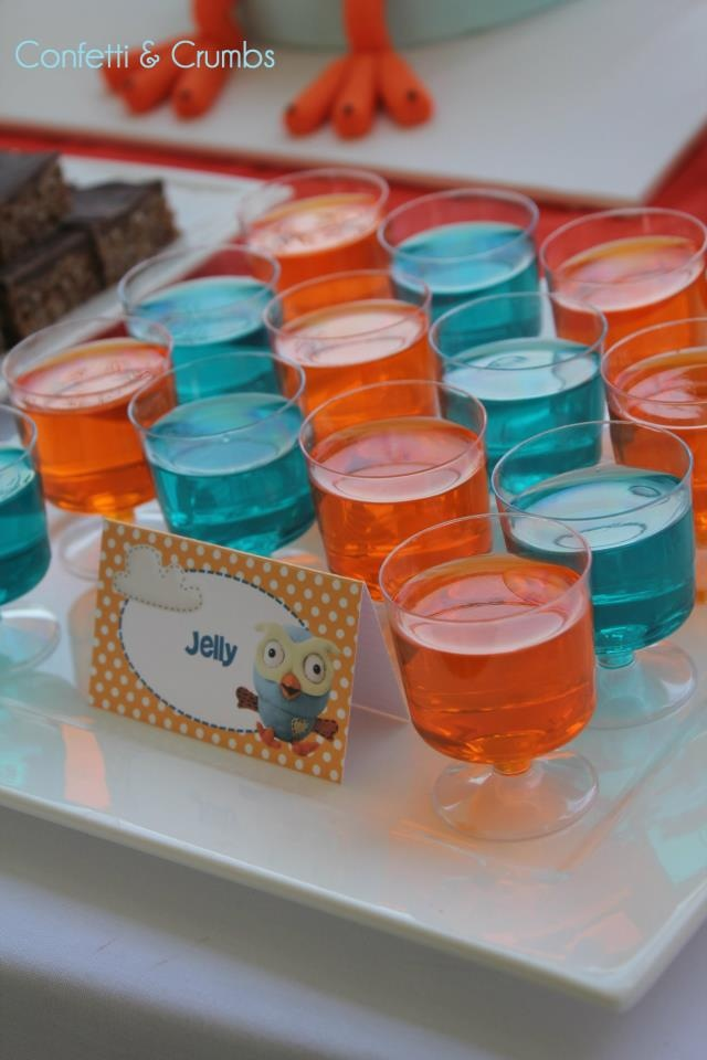 jelly cups - found at confetti crumbs on facebook
