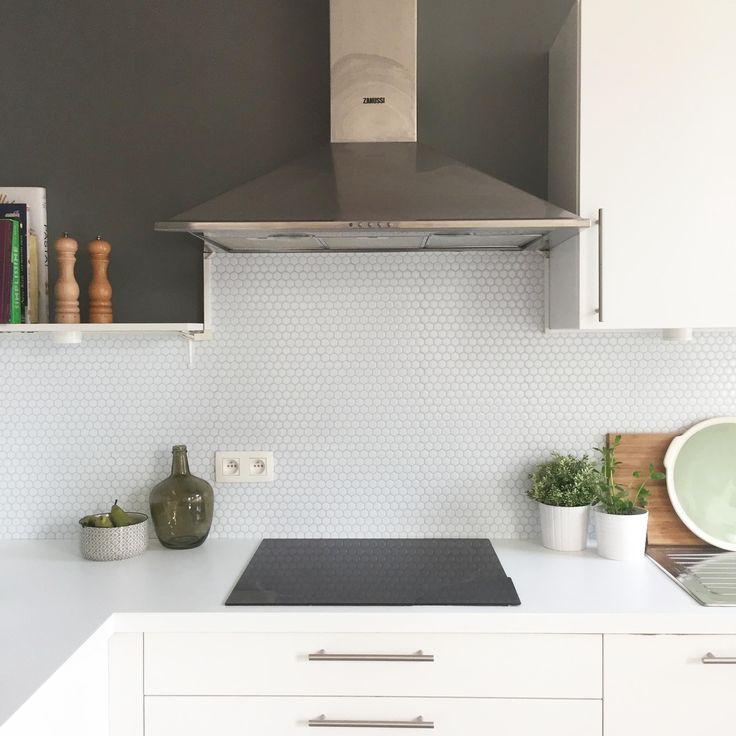 marvelous credence cuisine imitation pierre at home du caractre pour ma cuisine pierre with. Black Bedroom Furniture Sets. Home Design Ideas