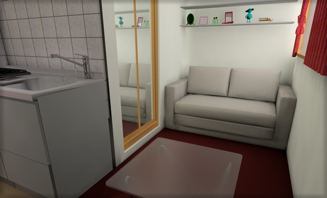 Japanese small room (10m2 !!)