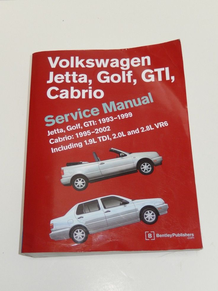 Awesome Awesome Volkswagen Service Manual Jetta, Golf, GTI: 1993-1999 ~ Cabrio: 1995-2002 2017 2018
