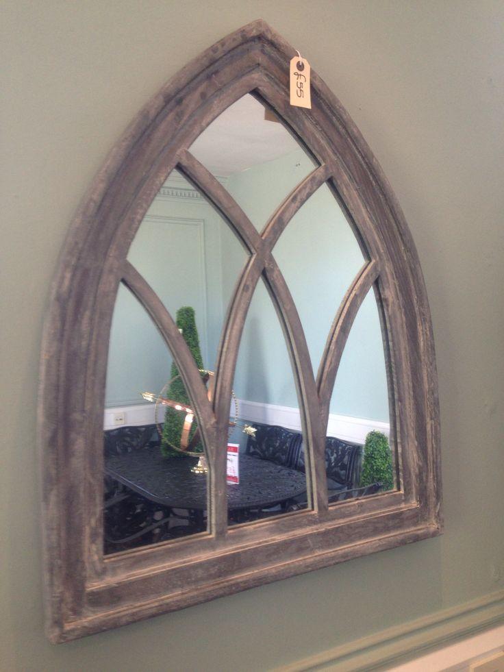 Hallway mirror - touch of gothic