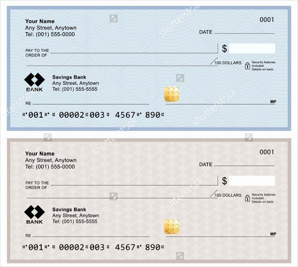 Blank Check Templates For Microsoft Word Inspirational Blank Check Template 30 Free Word Psd Pdf Vector Business Checks Blank Check Payroll Template