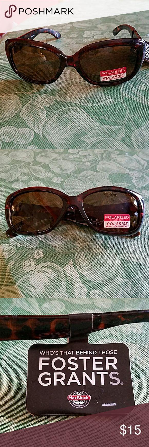 Foster Grant Sunglasses Polarized to reduce glare Foster Grant Accessories Sunglasses