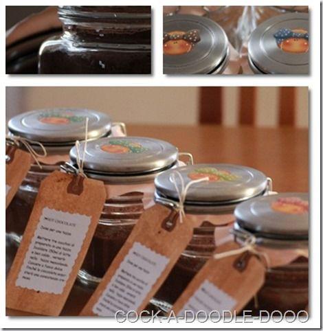 COCK-A-DOODLE-DOOO: Would you like a hot chocolate ? + RICETTA per cioccolato in tazza