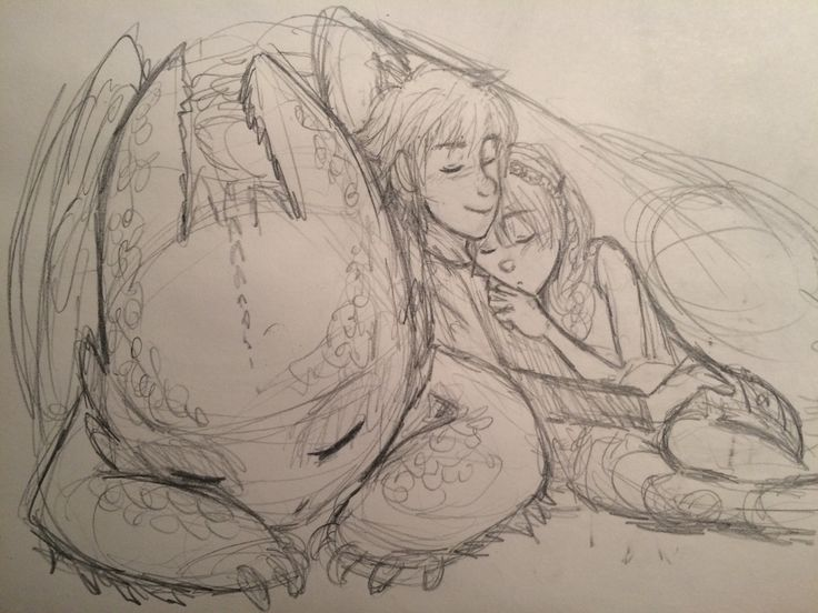 How To Train YOur Dragon Astrid Toothless and Hiccup Fanart